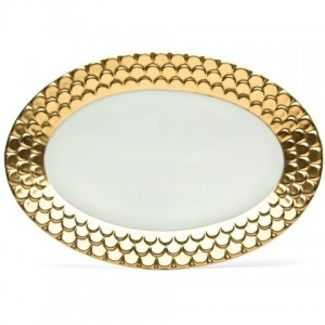 Aegean Gold Oval Platter