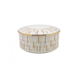 Luminous Gold Jewelry Box