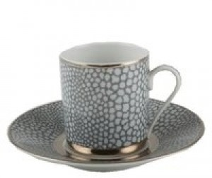 Makassar Demi Cup and Saucer