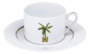 Maldives Tea Cup and Saucer