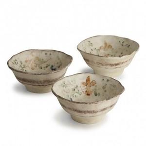 Medici Small Round Bowl S/3