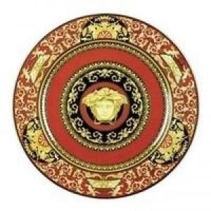 Medusa Red Service Plate