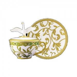 Neobe Covered Tea Cup and Saucer