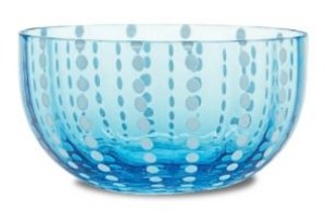 Perle Aquamarine Small Bowl