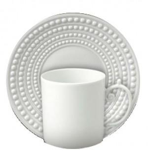 Perlee White Espresso Set