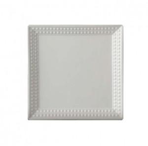 Perlee White Square Platter
