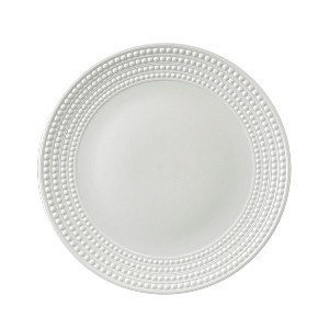 Perlee White Round Platter