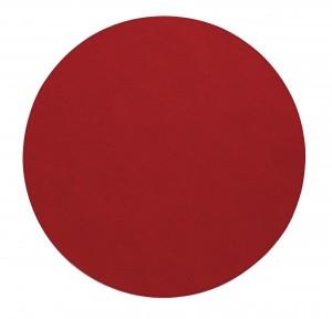 Presto Red Round Placemat