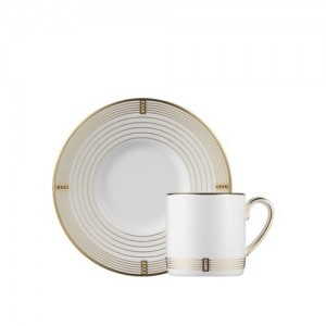 Regency Gold Espresso Cup and Saucer