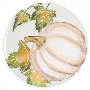 Pumpkins Round Platter