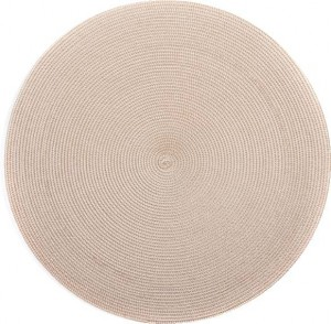 Round Placemat in Sand