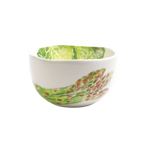 Spring Vegetables Small Deep Serving Bowl