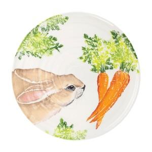 Spring Vegetables Round Platter