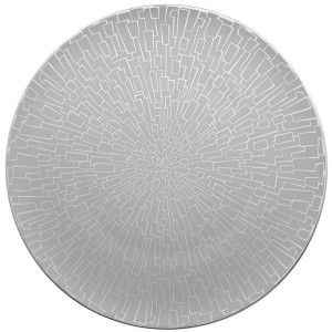 TAC 02 Skin Platinum Service Plate/Charger