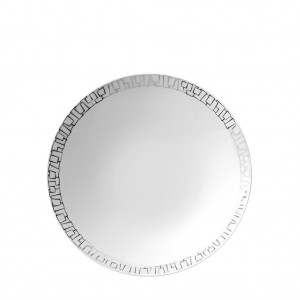 TAC 02 Skin Platinum Rim Soup Plate
