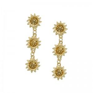 Sunflower Tier Earrings