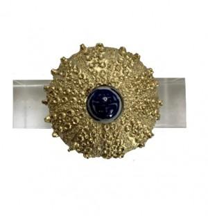 Gold Sea Urchin Napkin Ring Set/4