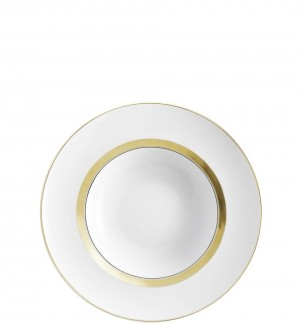 Domo Gold Soup Plate