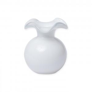 Hibiscus Bud Vase White