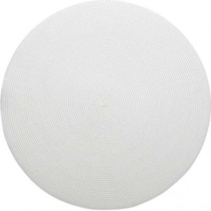 Round Placemat in White