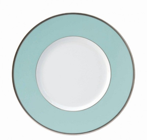 Les Indiennes Presentation Plate Turquoise - Les Indiennes - Philippe Deshoulieres - Dinnerware - Tisfortable  sc 1 st  T is for Table & Les Indiennes Presentation Plate Turquoise - Les Indiennes ...